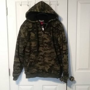 Espada Camo Hooded Sweatshirt XL